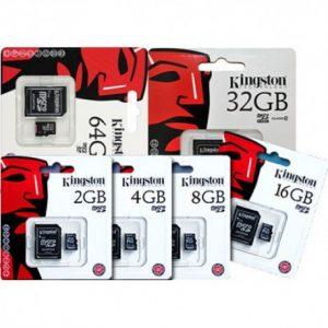 Kingston SD kaart 4GB