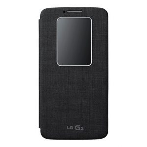 LG G2 Quick Window Cover ZWART