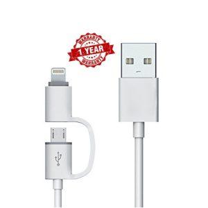 KhoCell 2-1 Data kabel - Lightning/Micro-USB