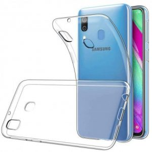 Samsung Galaxy A40 Transparant Silicone Hoesje