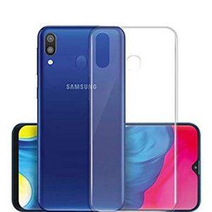 Samsung Galaxy A20 Transparant Siliconen Hoesje
