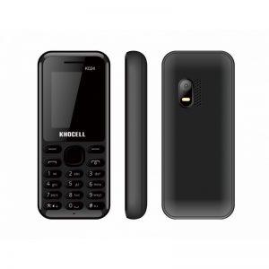 KhoCell K024 Zwart SIMLOCK VRIJ + Gratis KPN simkaart met €2.50 Beltegoed*