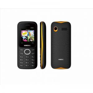 KhoCell K023 Zwart-Oranje SIMLOCK VRIJ + Gratis KPN simkaart met €2.50 Beltegoed*
