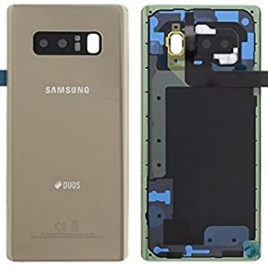 Note 8 Achterkant met camera lens voor Samsung Galaxy Note 8 – Goud