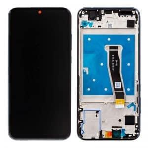 Honor 10 Lite LCD / Scherm met frame en batterij voor Honor 10 Lite – Sky Black
