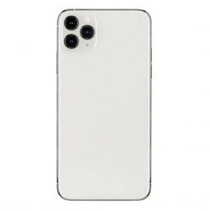 iPhone 11 Pro Max Achterkant met camera lens voor Apple iPhone 11 Pro Max – Silver