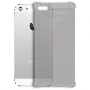 Apple hoesjes Siliconen hoesje voor Apple iPhone 5 / 5S – Schok bestendig – Transparant