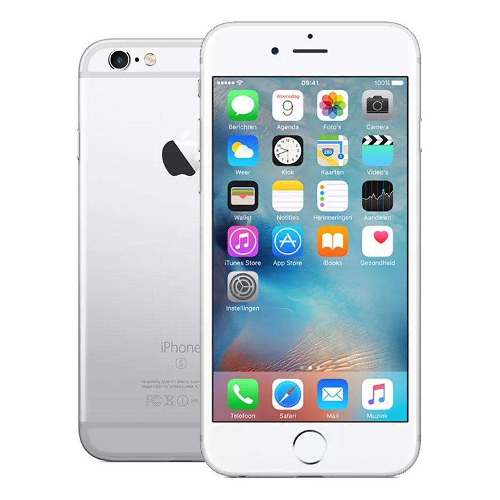 Apple Telefoons Refurbished iPhone 6S – Mobiele telefoon – 16GB – Zilver – A-B Grade
