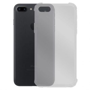 Apple hoesjes Apple – iPhone 7 / 8 – Schok bestendig – Siliconen hoesje – Transparant