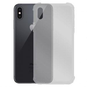 Apple hoesjes Siliconen hoesje voor Apple iPhone X / XS – Schok bestendig – Transparant