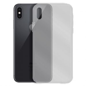 Apple hoesjes Siliconen hoesje voor Apple iPhone X / XS – Transparant