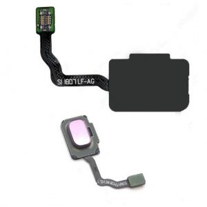 S9 Samsung – Galaxy S9 – Home Knop Flex – Roze