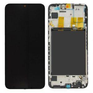 P Smart LCD / Scherm met frame voor Huawei P Smart – Zwart