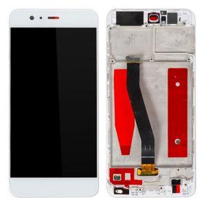 P10 LCD / Scherm met frame voor Huawei P10 – Wit