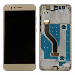 P10 Lite LCD / Scherm met frame voor Huawei P10 Lite – Goud