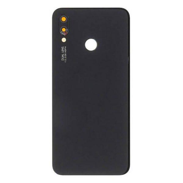 P20 Achterkant met camera lens voor Huawei P20 – Zwart