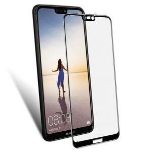 Huawei screen protectors Huawei – P20 Lite – Full Cover – Screenprotector – Zwart