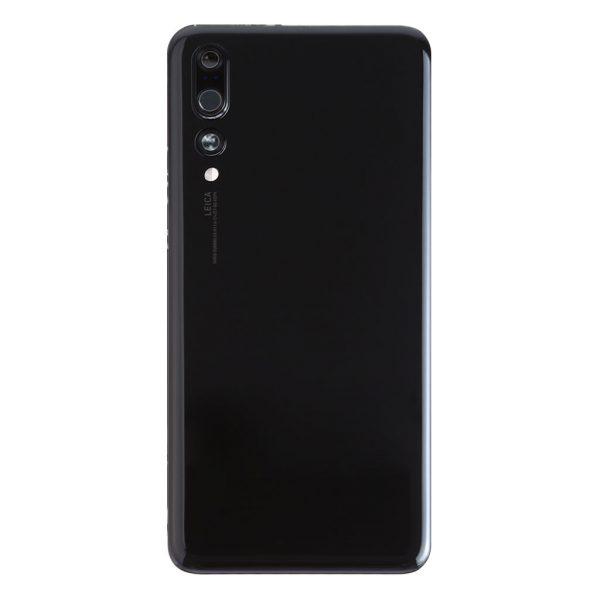 P20 Pro Achterkant met camera lens voor Huawei P20 Pro – Zwart