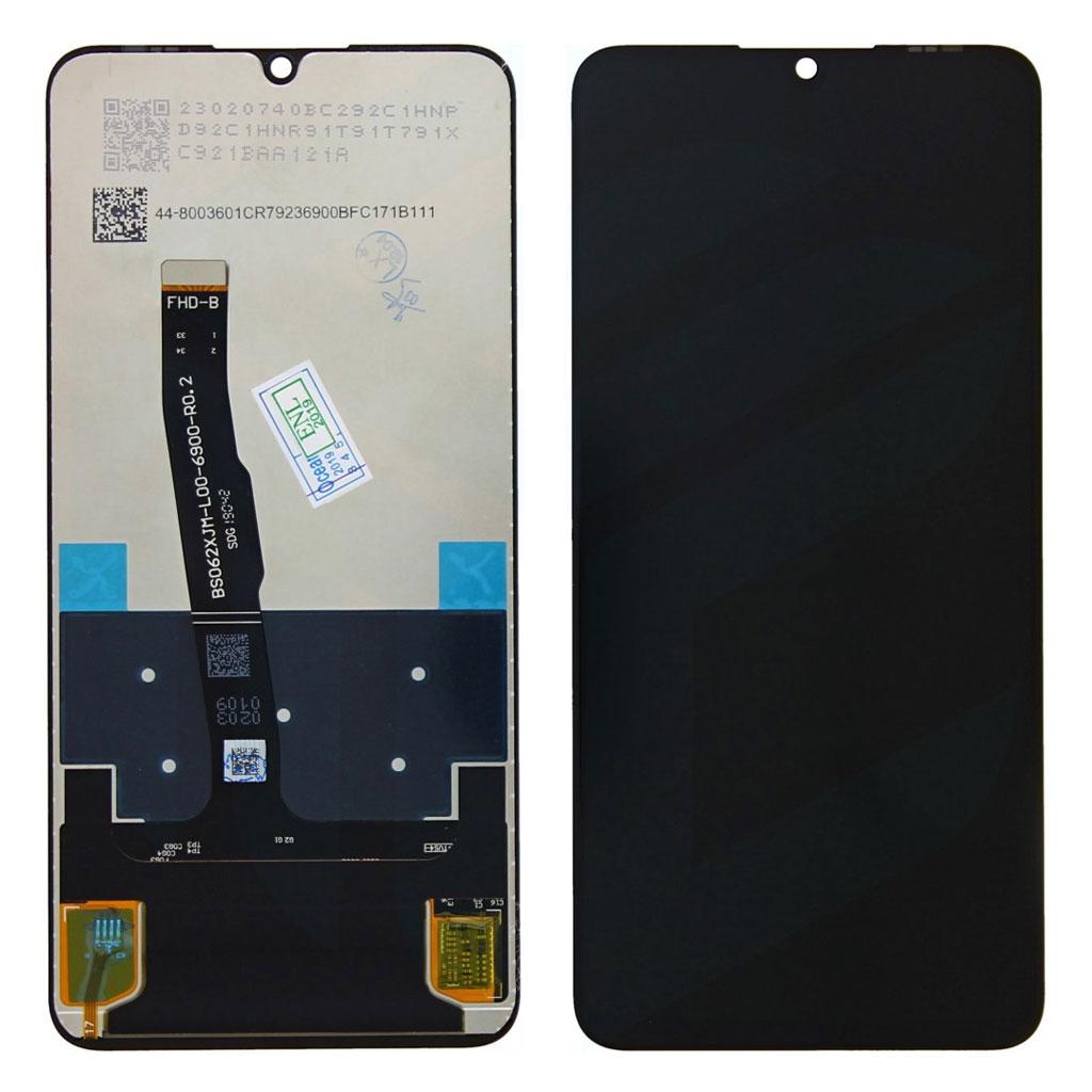 P30 Achterkant met camera lens voor Huawei P30 – Zwart