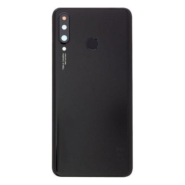 P30 Lite Achterkant met camera lens voor Huawei P30 Lite 24MP – Zwart