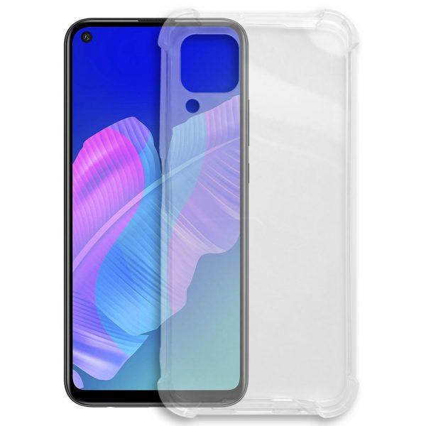 Huawei hoesjes Siliconen hoesje voor Huawei P40 Lite – Schok bestendig – Transparant