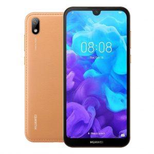 Huawei Telefoons Huawei – Y5 (2019) – Mobiele telefoon – 16GB – Dual Sim – Bruin