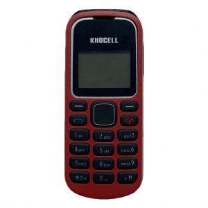 Khocell Khocell – K018 – Mobiele telefoon – Rood