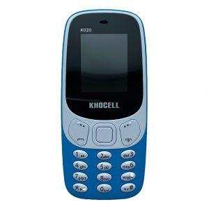 Khocell Khocell – K020 – Mobiele telefoon – Met prepaid – Blauw