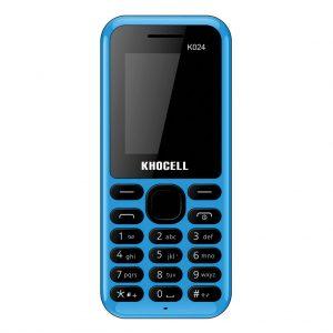 Khocell Khocell – K024 – Mobiele telefoon – Met prepaid – Blauw