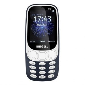 Khocell Khocell – K14S+ – Mobiele telefoon – Met prepaid – Donker blauw
