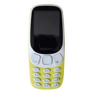 Khocell Khocell – K14S+ – Mobiele telefoon – Met prepaid – Geel