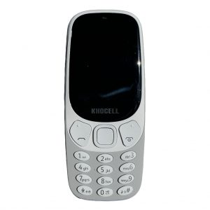 Khocell Khocell – K14S+ – Mobiele telefoon – Met prepaid – Grijs