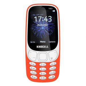 Khocell Khocell – K14S+ – Mobiele telefoon – Met prepaid – Oranje