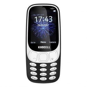 Khocell Khocell – K14S+ – Mobiele telefoon – Met prepaid – Zwart