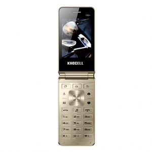 Khocell Khocell – K15S+ – Mobiele telefoon – Met prepaid – Goud