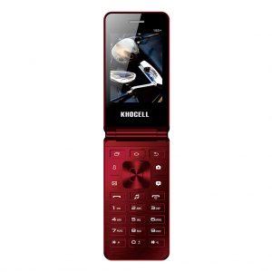 Khocell Khocell – K15S+ – Mobiele telefoon – Met prepaid – Rood