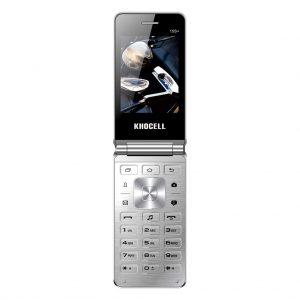 Khocell Khocell – K15S+ – Mobiele telefoon – Met prepaid – Zilver