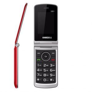 Khocell Khocell – K16S+ – Mobiele telefoon – Met prepaid – Rood