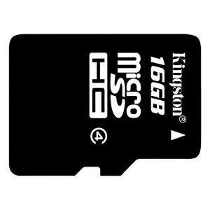 Memory cards Kingston – Micro SD kaart – Class 10 – 16GB