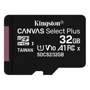 Memory cards Kingston – Micro SD kaart – Class 10 – 32GB
