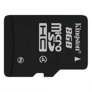 Memory cards Kingston – Micro SD kaart – Class 10 – 8GB
