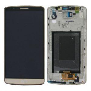G3 LCD / Scherm met frame voor LG G3 – Goud