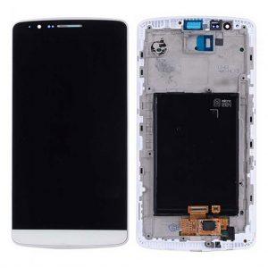 G3 LCD / Scherm met frame voor LG G3 – Wit