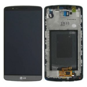G3 LCD / Scherm met frame voor LG G3 – Zwart