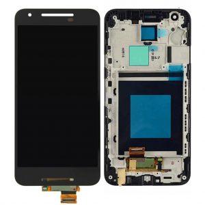 Nexus 5X LCD / Scherm met frame voor LG – Nexus 5X – Zwart