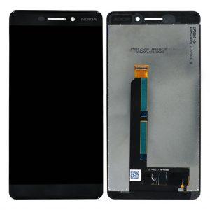 Nokia 6.1 LCD / Scherm voor Nokia 6.1 – Zwart