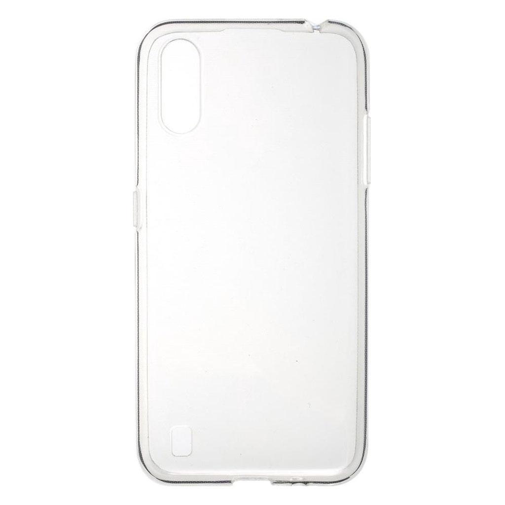 Samsung hoesjes Siliconen hoesje voor Samsung Galaxy A01 – Schok bestendig – Transparant