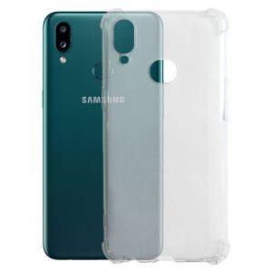 Samsung hoesjes Siliconen hoesje voor Samsung Galaxy A10S – Schok bestendig – Transparant