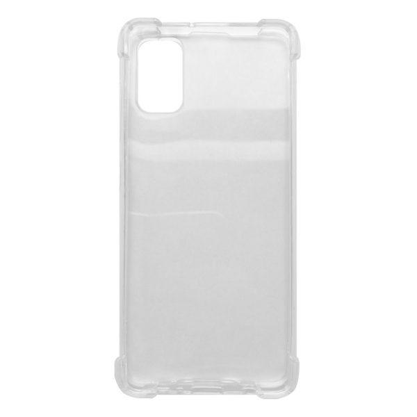 Samsung hoesjes Siliconen hoesje voor Samsung Galaxy A41 – Schok bestendig – Transparant