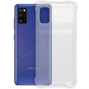 Samsung hoesjes Samsung – Galaxy A41 – Schok bestendig – Siliconen hoesje – Transparant